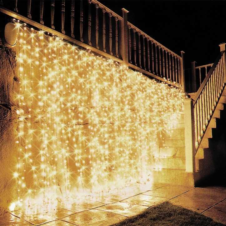 Светодиодный дождь (Плей Лайт) с постоянным свечением
